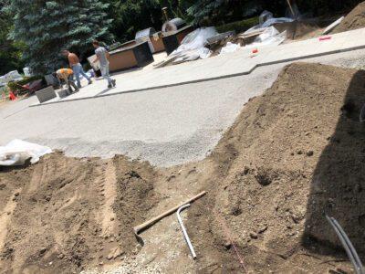 Interlocking gravel base Toronto