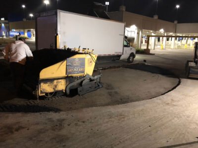 Ikea Leslie Commercial Paving Project ASPHALT