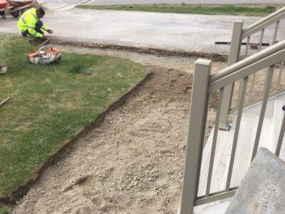 sidewalk interlocking