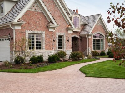 stone driveway by vip paving