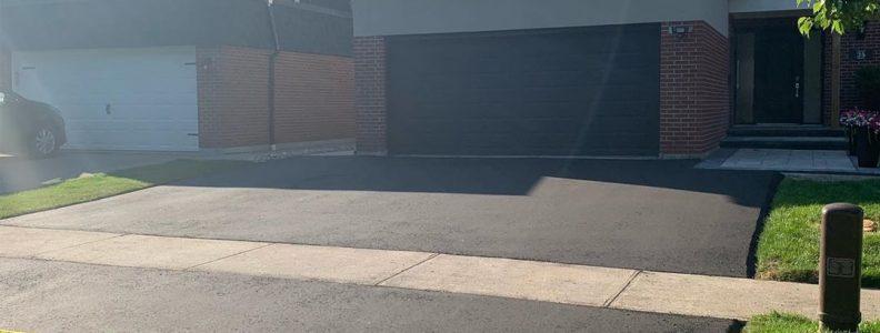 modern home driveway paving richmond hill