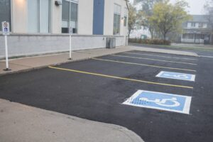 parking lot - commercial paving