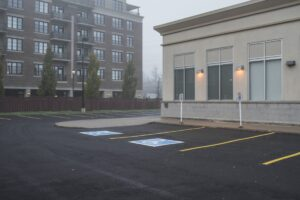 line painting for parking spot