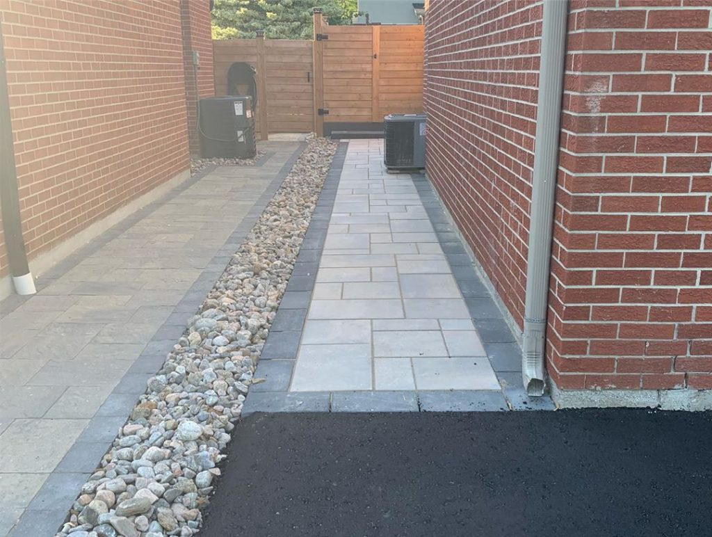 side walk interlocking and paving