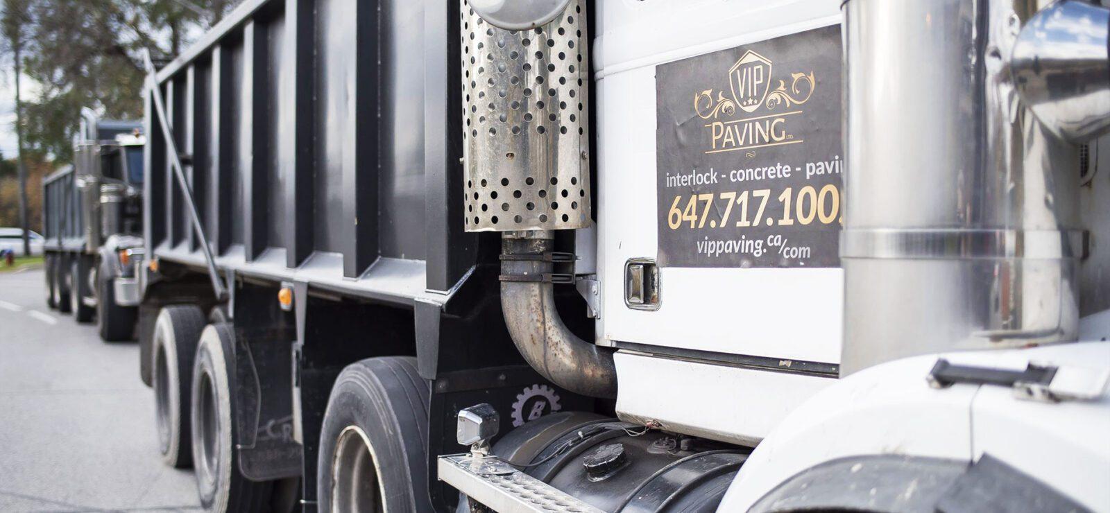 VIP Asphalt Paving Truck