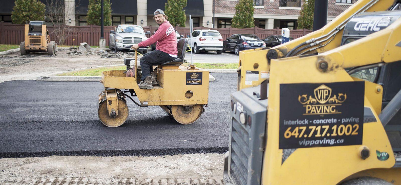asphalt paving by VIPpaving