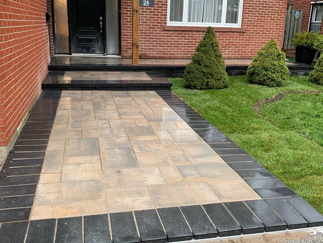 Front Home stone paving