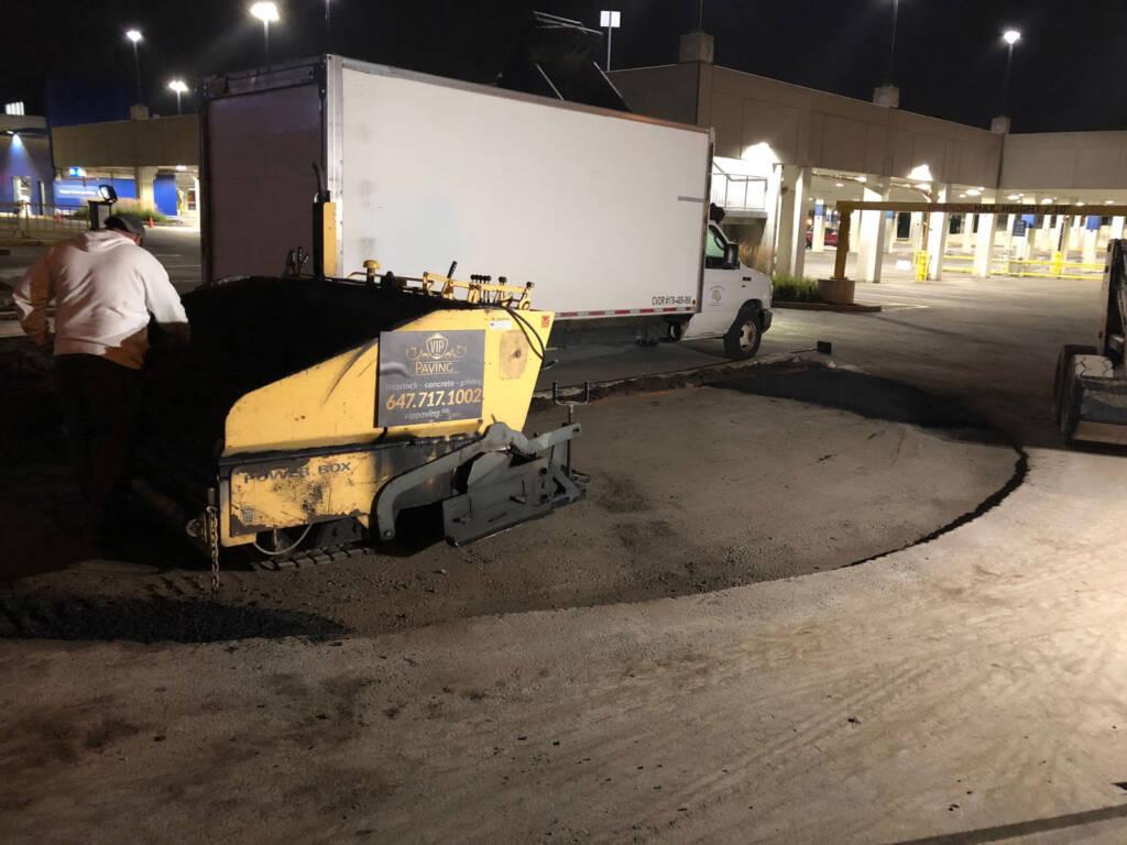 Ikea Driveway Paving Project Oakville