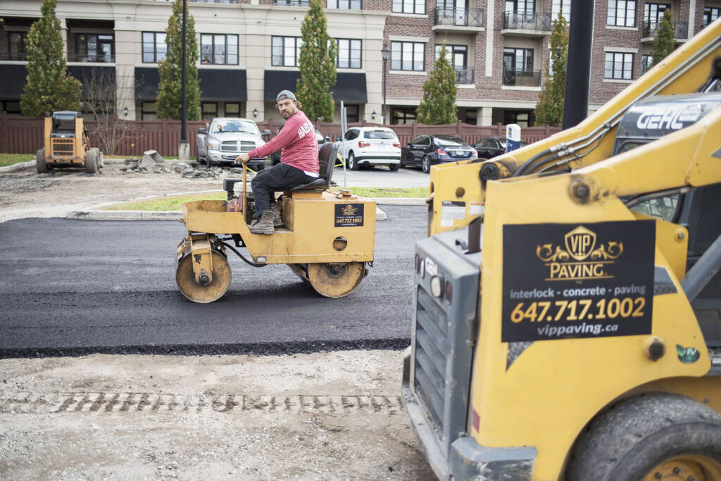 Commercial Paving Services by VIP Paving Oakville