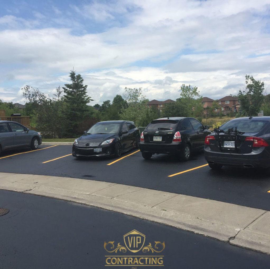 Commercial Parking Lot Paving Oakville