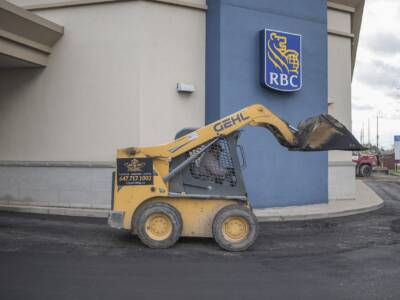 RBC Bank Driveway Paving by VIP Paving Thornhill