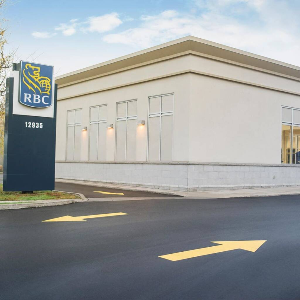 RBC Bank Commercial Driveway Paving Project Scarborough
