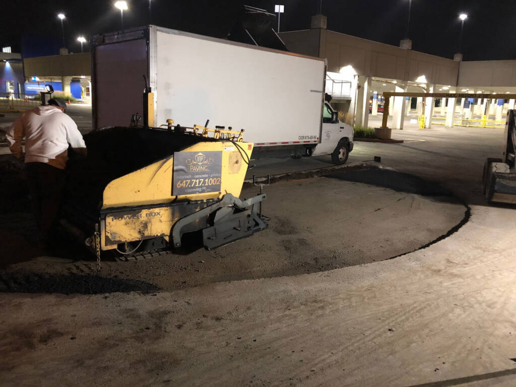 Commercial Ikea Driveway Paving Vaughan
